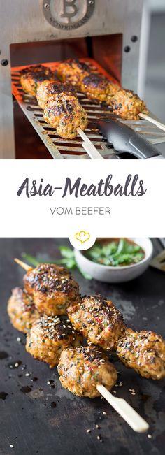 Buletten gehen immer und überall. Authentisches asiatisches Essen allerdings auch. Warum nicht beides miteinander kombinieren?