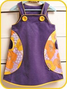 mymy børnetøj - samt andre sysler: En kjole til påskefrokosten