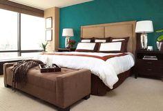 Спальня в коричневых тонах: особенности интерьера