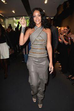Elle's Fashion Boudoir : Rihanna in Balmain | Paris