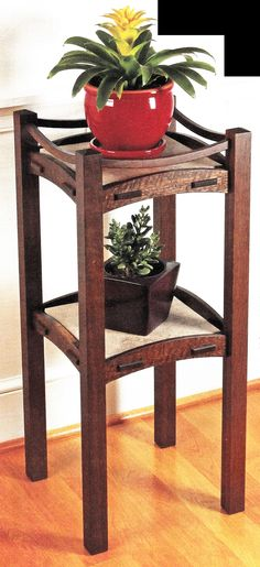 Stickley plant stand - The Dale Maley Family Web Site
