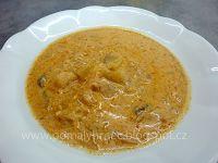 Pomalý hrnec: Pikantní zelňačka s klobásou v pomalém hrnci Cheeseburger Chowder, Hummus, Crockpot, Slow Cooker, Soup, Fruit, Cooking, Ethnic Recipes, Blog
