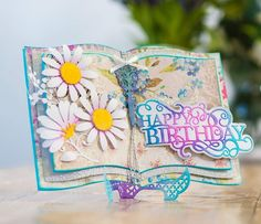This Gemini Elements Metal Die - Storybook is perfect to add that extra something to your papercrafting projects. Buy now from Crafter's Companion. Birthday Letters, Birthday Cards, Happy Birthday, Diy Birthday Gifts For Him, Fairy Tale Crafts, Crafters Companion Gemini, Scrapbooking Photo, Diy Crafts For Girls, Birthday Sentiments