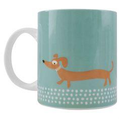 Scandi Sausage Dog Mug