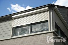 De #rolluiken van Verano® fungeren als een stevig pantser voor uw raam: veilig en inbraakwerend #Verano #rollershutters