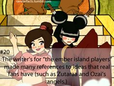 When the real writers make fun of some of the fandoms.on the actual show.that's just sad. And hilarious. Avatar Facts, Team Avatar, The Last Avatar, Avatar The Last Airbender, Azula, Aang, I Will Protect You, Avatar Series, Fire Nation