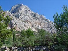 La Montagne Sainte Victoire depuis le refuge Cézanne.