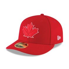 online store 4cdd9 7fd4d Men s Toronto Blue Jays New Era Scarlet 2017 Authentic Collection On-Field  Low Profile 59FIFTY