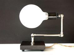 Modern Home Wood Table Lamp Desk Lighting Antique Edison Bulb Bedroom Lamp Foyer Light Office Light