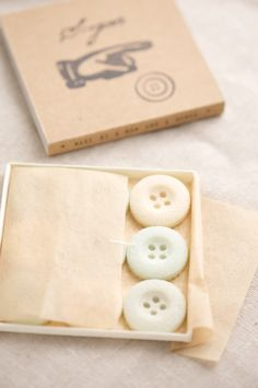 Box of Sugar Buttons