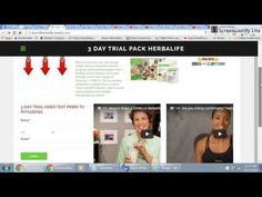 How to Order Herbalife 3 Day Trial Pack - YouTube