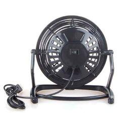 USB Mini Desktop Power PC Laptop Fan Desk Table Keep Warm with this USB Fan under £3 - Avoid the Heatwave