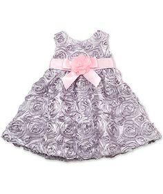 Rare Editions Baby Dress, Baby Girls Soutache Dress - Kids Baby Girl (0-24 months) - Macy's