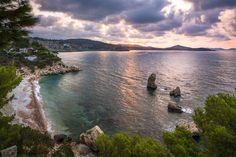 Villa Atlantis - Ibiza, Spain Perched on the rocky...   Luxury Accommodations