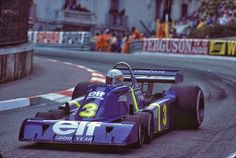 STORMWHEELS: A masterpiece with 6 wheels - TYRRELL P34 - F1 1976 - 1978 Blue Meanie, Jody Scheckter, Car Competitions, James Hunt, Sand Rail, Monaco Grand Prix, F1 Drivers, Indy Cars, Car And Driver