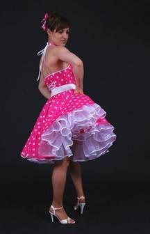 SETRINO® Couture aus Berlin | gepunktetes freches Petticoatkleid der 1950'er bei Petticoatshop.com