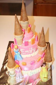 Tutorial para hacer tarta de castillo de arena.