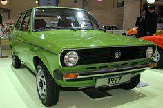 Um verdadeiro classico! Volkswagen Polo 1977!  #vintagecar #classiccar #vwpolo #vw