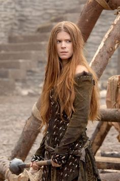 """Kate Mara as Lady Isabel in """"Ironclad"""", movie, 2011."""