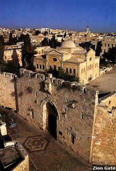 Jerusalem's beauty never fails to astound me!