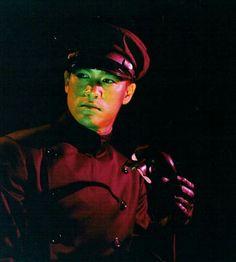Bruce Lee as Kato in The Green Hornet.