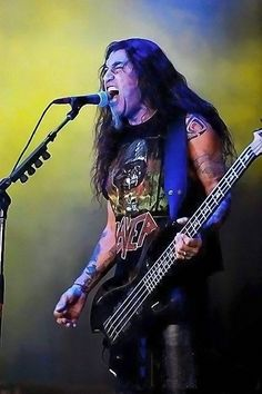 Tom Araya of SLAYER m/