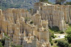 Ce paysage singulier se trouve en France, dans les Pyrénées-Orientales.  - SCMB Images