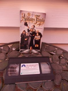 Vintage 1992 The Addams Family VHS Movie by PfantasticPfindsToo, $5.99