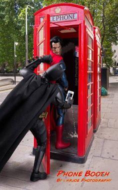 Este batman tiene sus cosas (La vida secreta y cotidiana de los superheroes)