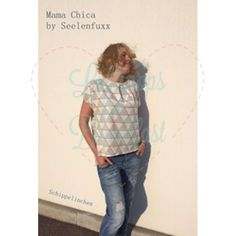 Kreativhund FREeBook MamaChica - Die MamaChica ist ein Oversizeshirt im VoKuHiLa-Stil in den Größen 34-46. Das Shirt kann mit Loopkragen, Kapuze oder Halsbündchen genäht werden und es sind drei Ärmellängen möglich. Außerdem lässt sich das Shirt bis zum Kleid verlängern und eine kleine Überraschung enthält das FreeBook auch noch.