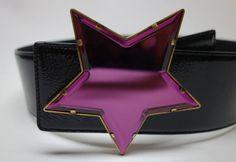 YSL Yves Saint Laurent  Rive Gauche large Violet by Vintageables, $375.00