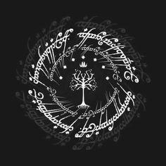 Awesome 'White+tree+of+gondor' design on TeePublic!