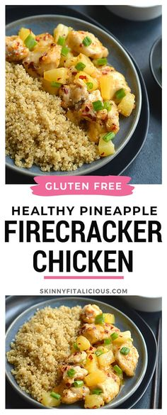 Sweet and savory Healthy Pineapple Firecracker Chicken With Quinoa! … – Sweet and savory Healthy Pineapple Firecracker Chicken With Quinoa! Healthy Low Calorie Meals, No Calorie Foods, Healthy Eating, Healthy Nutrition, Easy Low Calorie Dinners, Healthy Tacos, Low Calorie Recipes, Stay Healthy, Nutrition Tips