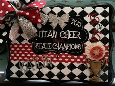 Personalized Cheer Team Awards Plaque Gift by RebelandSass on Etsy Cheer Spirit, Spirit Gifts, Cheer Banquet, Soul Design, Cheer Gifts, Spirit Awards, Cheer Dance, Personalized Gifts, Handmade Gifts