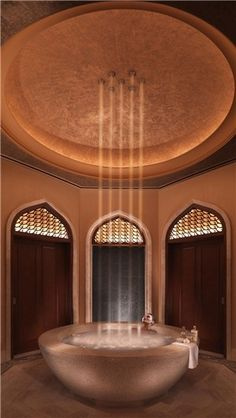Dubai luxury at ShuiQi Spa and Fitness at Atlantis, The Palm