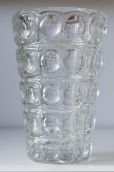 Mid Century Sklo Union Czech Glass Vase   Etsy Gold Glass, Glass Art, Vase Shapes, Mid Century Art, Glass Birds, Modern Retro, Etsy Shipping, Antique Glass, Czech Glass