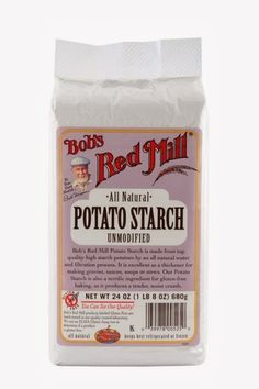 Use to lower blood sugar levels...Potato starch MO  Low-Carb High-Fat
