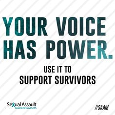 Sexual Assault Awareness Month | National Sexual Violence Resource Center (NSVRC)