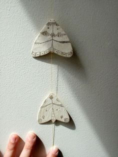 Moths Mobile by Arrupel