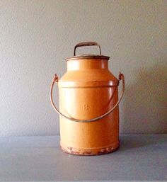 Vintage Milk Can by 2AtHomestead on Etsy