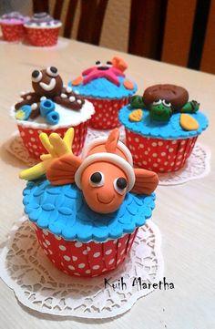 Kuih Maretha: The Nemo Cupcakes