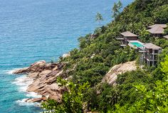 Four Seasons Seychelles four-bedroom residence villa #FourSeasonsMagazine #FourSeasons #FSJet