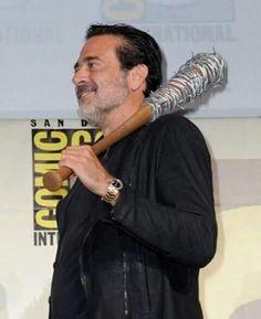 Negan (Jeffrey Dean Morgan) at Comic Con