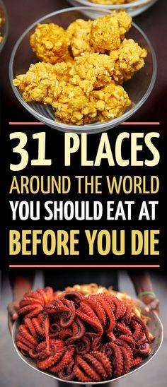 Eat your way around the world.