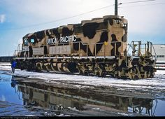 RailPictures.Net Photo: UP 3593 Union Pacific EMD SD40-2 at Cheyenne, Wyoming by Dave Schauer