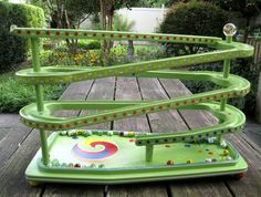 whimsytwo on Etsy Old Fashioned Toys, Outdoor Furniture, Outdoor Decor, Wooden Toys, Whimsical, Two By Two, Marble, Artsy, Woodworking