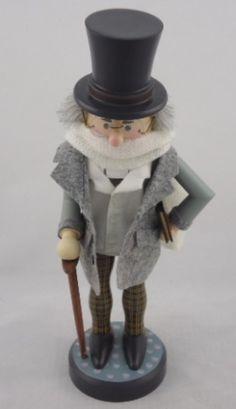 Scrooge ~ Zim's Heirloom Collectible Nutcracker/ www.thewhitehurstcompany.com