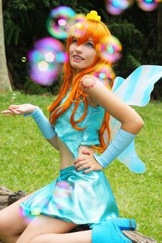 Winx Club -Bloom cosplay