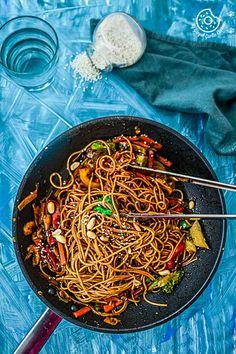 Vegetable Teriyaki Noodles | Video