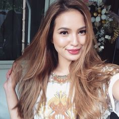 Sarah Lahbati @sarahlahbati Blondes do have m...Instagram photo | Websta (Webstagram) Sarah Lahbati, Filipina Beauty, Celebrity Biographies, Bra Sizes, Asian Woman, Best Makeup Products, Asian Beauty, Hair Inspiration, Hair Color